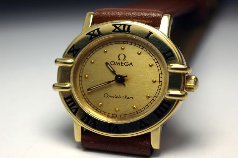 RELOJ ORO «Omega Constellation»